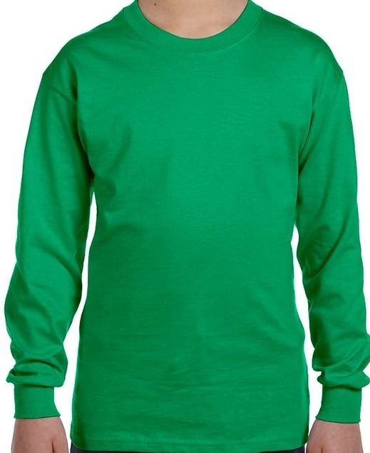 3410bafd3 ... Long-Sleeve T-Shirt; Black; Carolina Blue; Forest Green; Garnet; Gold; Irish  Green ...