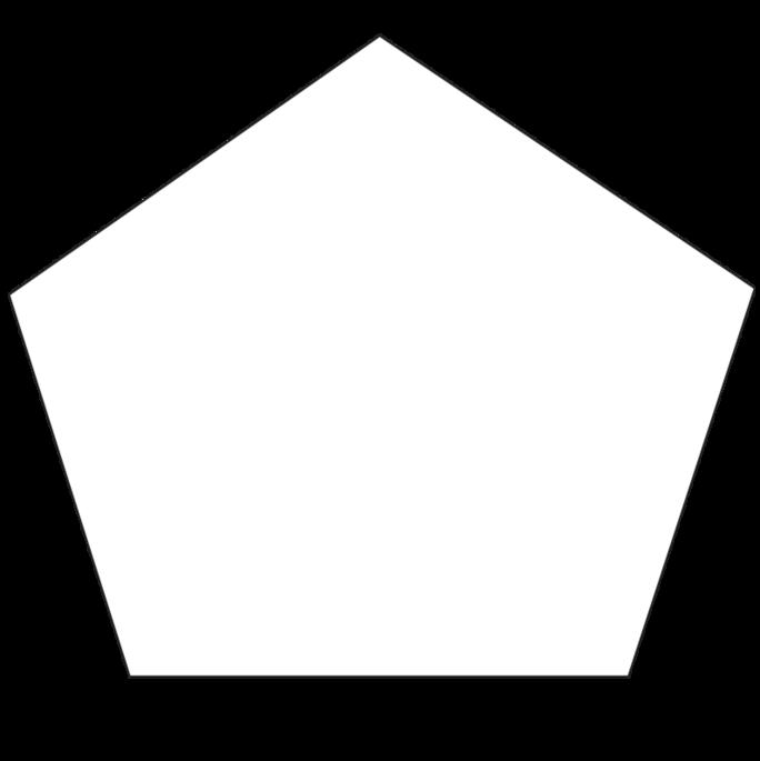 Pentagon Hand Fans