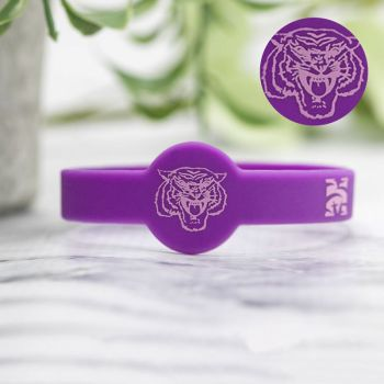 1/2 Inch Embossed Figured Wristbands