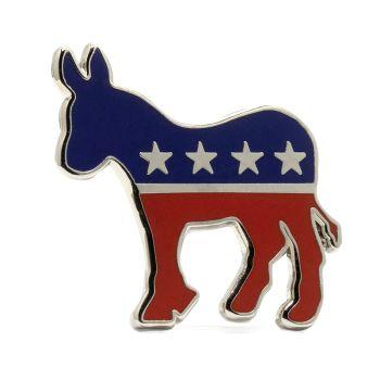 Democratic Party Stock Lapel Pins